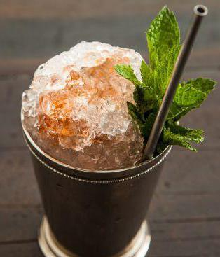 blue butcher mint julep